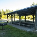 G1-Wagon Wheel Group Camp at Fort Flagler State Park.- Fort Flagler State Park Campground