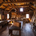 Carpenter shop at Fort Vancouver.- Fort Vancouver National Historic Site