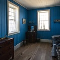 Captain Thomas Baillie's quarters within the Counting House at Fort Vancouver.- Fort Vancouver National Historic Site