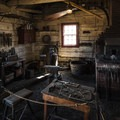 Blacksmith shop at Fort Vancouver.- Vancouver National Historic Reserve + Officer's Row National Historic District
