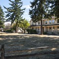 Fort Vancouver East Barracks.- Vancouver National Historic Reserve + Officer's Row National Historic District