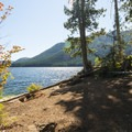 Lake Cushman North Shore West swimming hole.- Lake Cushman, North Shore West