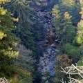 View of the Big Sur River. - Sykes Hot Springs