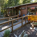 Skokomish Park main offices and small general store.- Lake Cushman, Skokomish Park South Camp