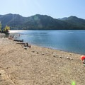 Skokomish Park Beach.- Lake Cushman, Skokomish Park Beach + Day Use Area