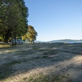 The day use area at Potlatch State Park.- Potlatch State Park