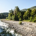 Elwha River near Goblin Gates.- Olympic National Park