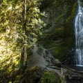 Marymere Falls.- Olympic National Park
