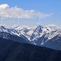 View south of the Olympic Mountains from Hurricane Ridge.- Olympic National Park