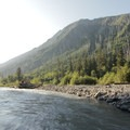 The Hoh River at the Olympus Ranger Station.- Olympic National Park