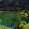 Grand Lake, just south of Obstruction Point.- Olympic National Park