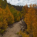 Bishop Pass Trail in the fall.- South Lake, Bishop Pass Trail