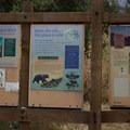 Signage at the trailhead.- South Lake, Bishop Pass Trail