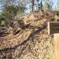 Trailhead for the Oregon Trail and Rich Gulch Trail.- Panorama Point via Oregon Trail