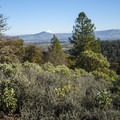 View southeast from Panorama Point within Jacksonville Woodland Park.- Panorama Point via Oregon Trail