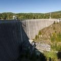 Alder Lake Dam was built in 1945.- Alder Lake Park
