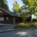 Restroom facilities at Alder Lake Park.- Alder Lake Park