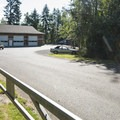 Alder Park Campground maintenance facility.- Alder Lake Park Campground
