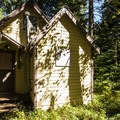 Big Creek Guard Station.- Big Creek Campground