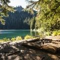 Backcountry campsite at Bertha May Lake.- Granite, Bertha May + Pothole Lakes