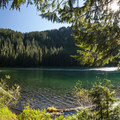 Bertha May Lake.- Granite, Bertha May + Pothole Lakes