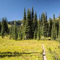 Palisades Lakes Trail.- Palisades Lakes Trail