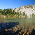Hidden Lake.- Palisades Lakes Trail
