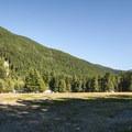 View of Ranger Creek Airstrip.- Buck Creek Campsites at Ranger Creek Airstrip