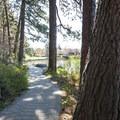 Deschutes River Trail at Pioneer Park.- Pioneer Park
