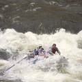 Punching through Tappan Falls at approximately 5 feet.- Middle Fork of the Salmon River - Overview