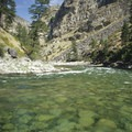 "The ""gin-clear"" waters of the Middle Fork in a non-fire year.- Middle Fork of the Salmon River - Overview"