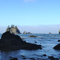 The cove at Point of the Arches.- Point of the Arches via Shi Shi Beach
