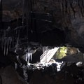 Looking back at the entrance from the west portion of the cave.- Guler Ice Caves