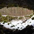 One of the cave exits.- Guler Ice Caves