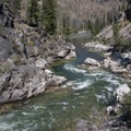 Pistol Creek at roughly 2.5 feet in August.- Middle Fork of the Salmon River - Day 2