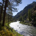 Late August light in Pungo Canyon.- Middle Fork of the Salmon River - Day 2