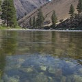 Crystal clear waters of the Middle Fork somewhere in the middle canyon.- Middle Fork of the Salmon River - Day 3