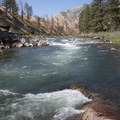 Pine Flat Rapid.- Middle Fork of the Salmon River - Day 3