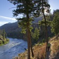 Fall light along the middle canyon stretch.- Middle Fork of the Salmon River - Day 3