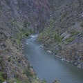 Tappan IV and the end of Tappan Canyon.- Middle Fork of the Salmon River - Day 4