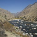 Haystack Rapid at low water.- Middle Fork of the Salmon River - Day 4