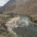 Bernard Creek Rapid is immediately below Haystack.- Middle Fork of the Salmon River - Day 4