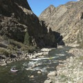 Earthquake Rock Rapid.- Middle Fork of the Salmon River - Day 4