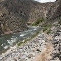 Jack Creek Canyon at a moderate flow.- Middle Fork of the Salmon River - Day 4