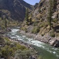 Looking upstream onto Jack Creek Rapid.- Middle Fork of the Salmon River - Day 4