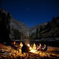 Fireside view from Elk Bar Camp.- Middle Fork of the Salmon River - Day 5