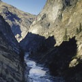 A spectacular view of the Impassable Canyon from above Wall Creek Rapid.- Middle Fork of the Salmon River - Day 5