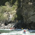 Wall Creek Rapid from river level.- Middle Fork of the Salmon River - Day 5