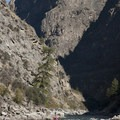 Impressive canyon in the lead up to Weber Rapid.- Middle Fork of the Salmon River - Day 5