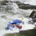 The kayak-eating first drop in Weber Rapid.- Middle Fork of the Salmon River - Day 5